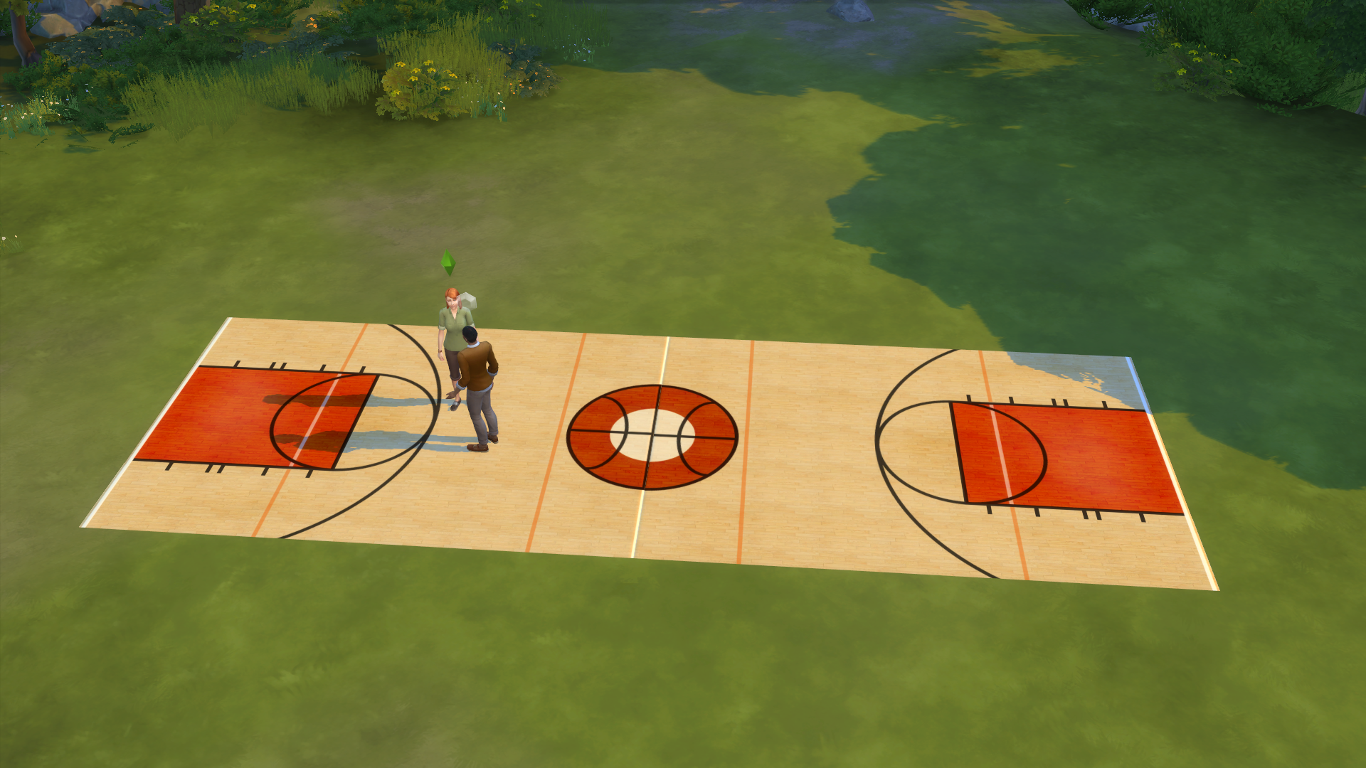 Sims 2 Basketball Court Rug Simsworkshop