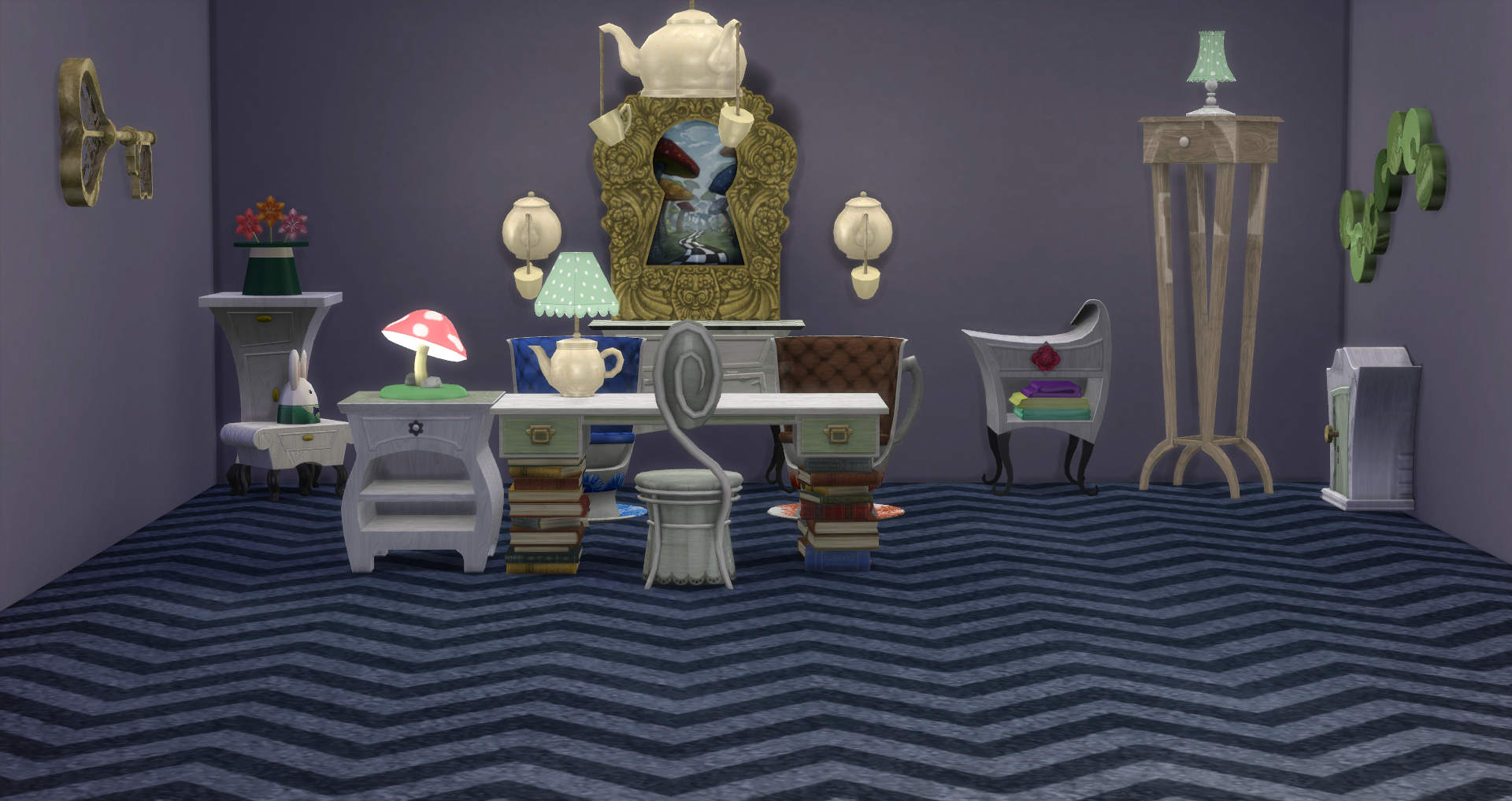Through the Spy Glass Sims 3 Store Set Conversion to Sims..