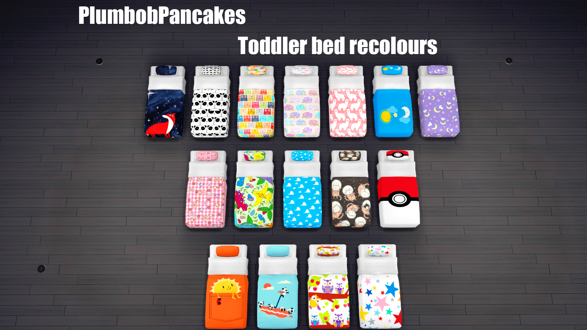 Toddler Mattress Recolours Simsworkshop