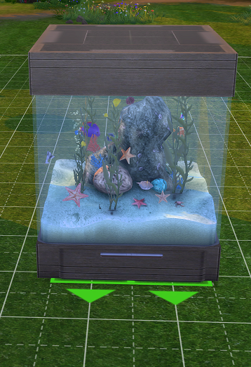 Sims 2 to 4~ 60 Gallon Aquarium | SimsWorkshop