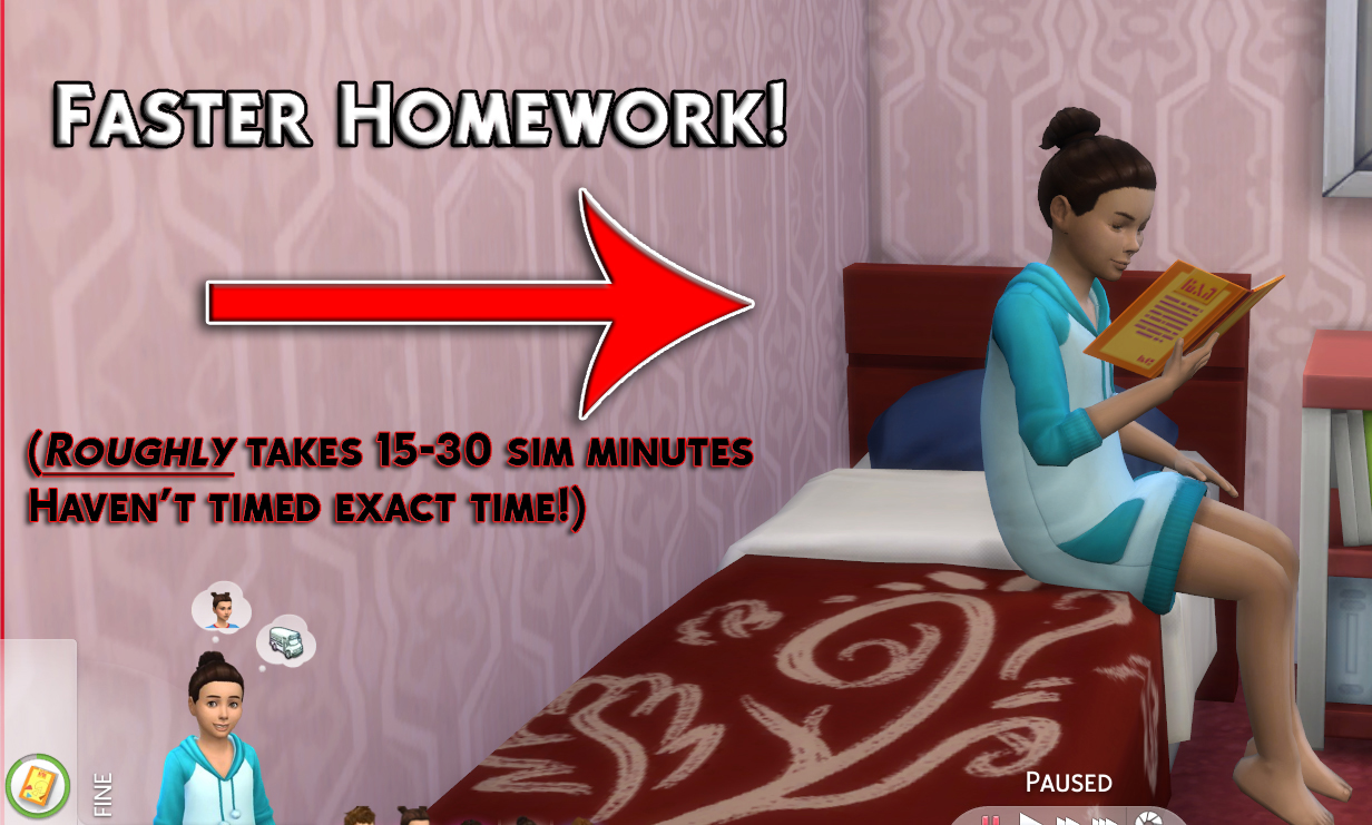Simstopics Faster Homework | SimsWorkshop
