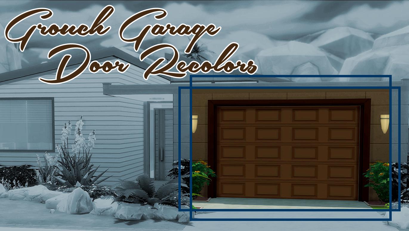 Grouch Garage Door Recolors Simsworkshop