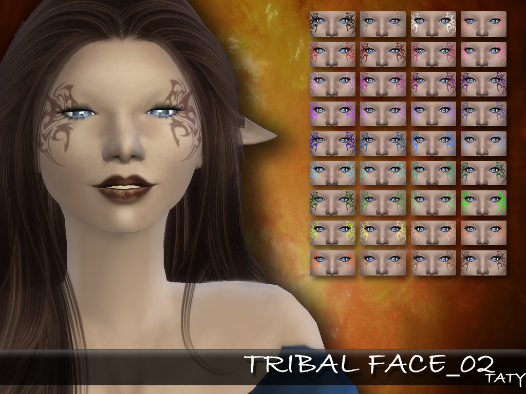 [Ts4]Taty_TribalFace_02.png