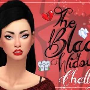 The Sims 4 | The Black Widow Challenge